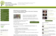 NZ Eating Disorder Clinic home page